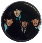The Beatles - 'Group Dark' Button Badge